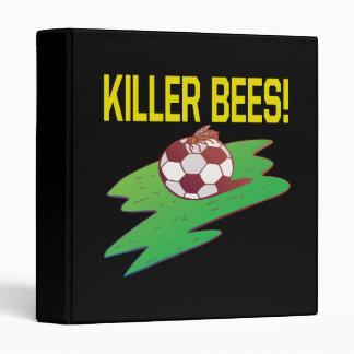 Killer Bees 3 Ring Binder