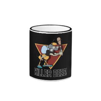 Killer Bees Ringer Coffee Mug