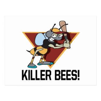 Killer Bees Postcard
