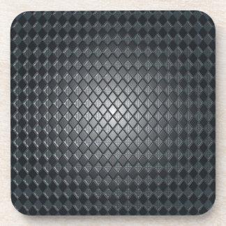 Killer Black Diamond Design Coaster