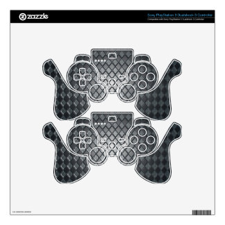 Killer Black Diamond Design Decal For PS3 Controller