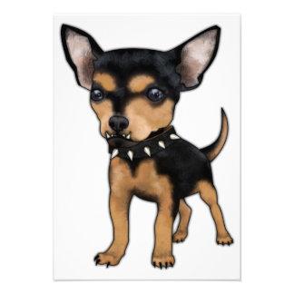 Killer Chihuahua Custom Invite