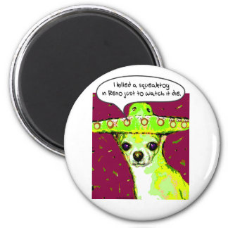 Killer Chihuahua Fridge Magnets