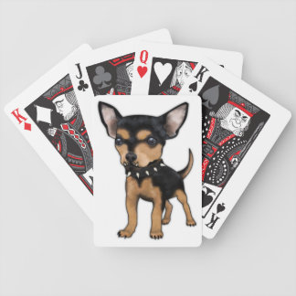 Killer Chihuahua Bicycle Playing Cards