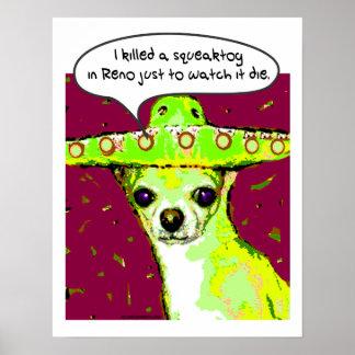 Killer Chihuahua Poster