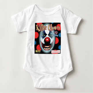Killer Clown Baby Bodysuit