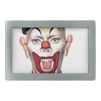 Killer Clown looking to the front Belt Buckle