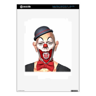 Killer Clown looking to the front iPad 3 Skin