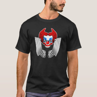 Killer Clown Skull T-Shirt