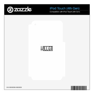 Killer Decal For iPod Touch 4G