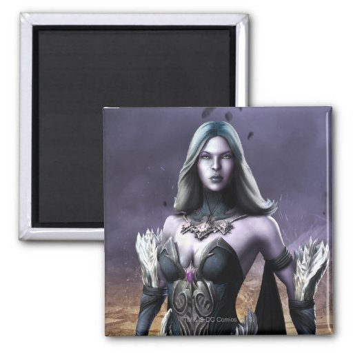 Killer Frost 2 Inch Square Magnet