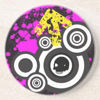 Killer Grunge/Urban Circle Coaster