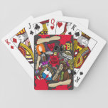 """KILLER INSTINCT by S. E. Green Playing Cards<br><div class=""""desc"""">Playing cards based on the book.</div>"""