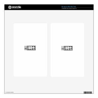 Killer Kindle Fire Decals