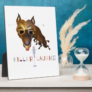Killer Laughs – ZooDo Illustration Plaque