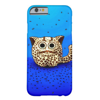 Killer Leopard Fluffball Familiar Barely There iPhone 6 Case