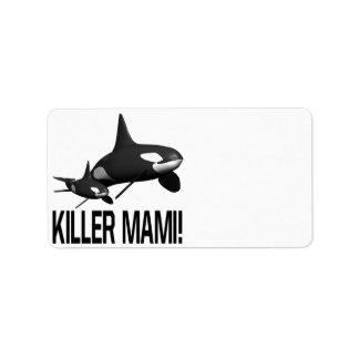 Killer Mami Address Label