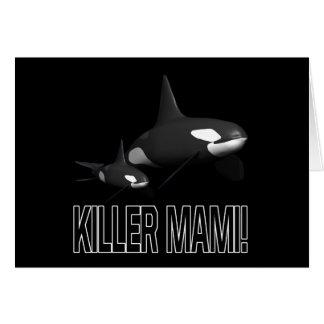 Killer Mami Greeting Card