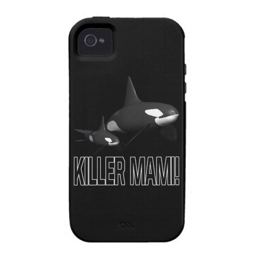 Killer Mami Case For The iPhone 4