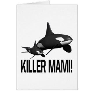 Killer Mami Greeting Cards