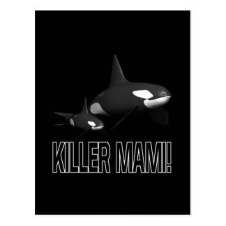 Killer Mami Postcard