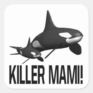 Killer Mami Square Sticker