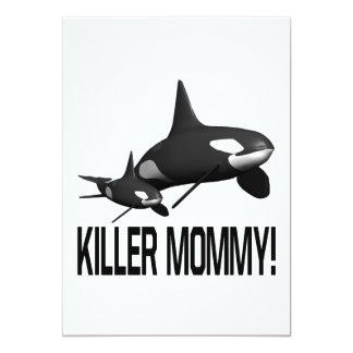 Killer Mommy Custom Announcements