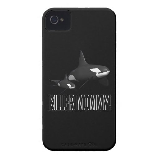 Killer Mommy iPhone 4 Case-Mate Cases