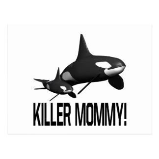 Killer Mommy Postcard