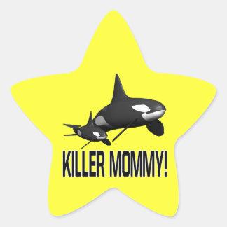 Killer Mommy Star Sticker