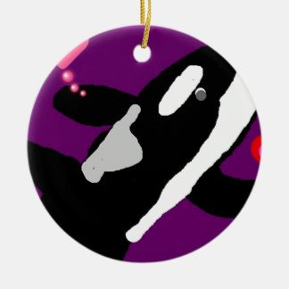 Killer of a Valentine Whale gift collection Christmas Tree Ornaments