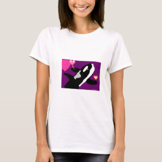 Killer of a Valentine Whale gift collection T-Shirt