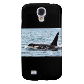 Killer Orca Male Whale San Juan Island Samsung Galaxy S4 Covers