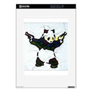 Killer Panda Decal For iPad