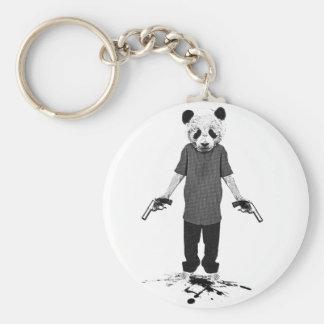 Killer panda key chain