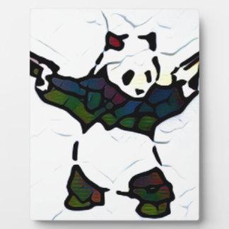 Killer Panda Plaque