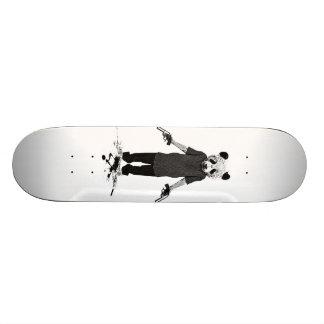 Killer panda skateboard deck
