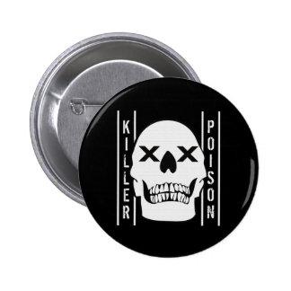 Killer Poison Pinback Buttons