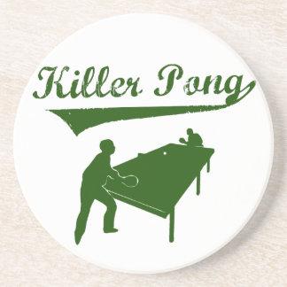 Killer Pong Coasters
