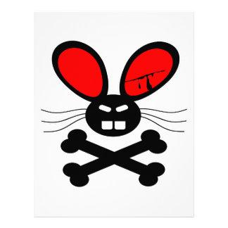 Killer Rabbit Cartoon Letterhead