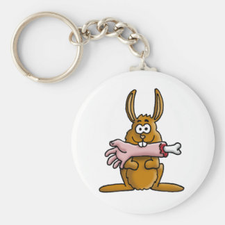 killer rabbit keychain