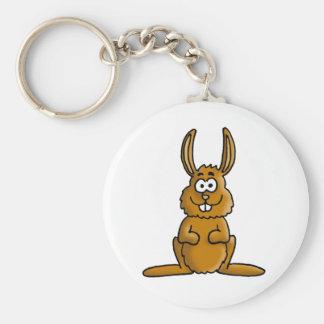 killer rabbit llavero redondo tipo pin