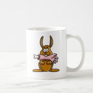 killer rabbit taza clásica