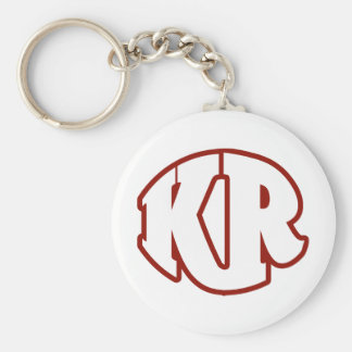 Killer Red Logo #2 Keychain