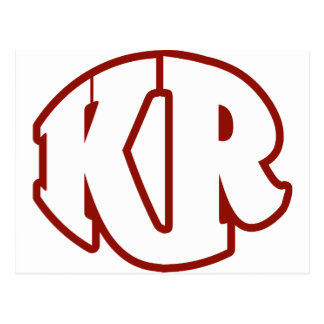 Killer Red Logo #2 Postcard