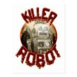 Killer Robot Postcard