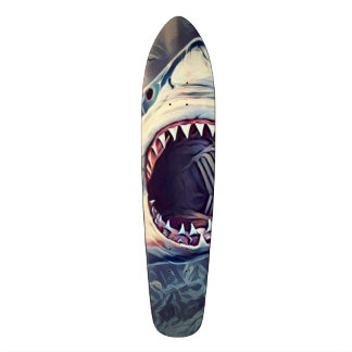 Killer Shark Element Cruiser Custom Pro Long Board