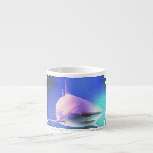 Killer Shark Specialty Mug Espresso Cups