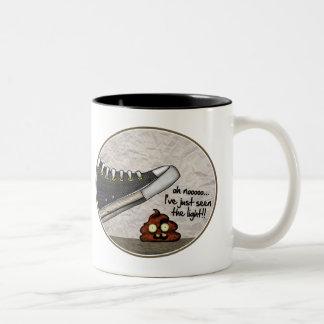 KILLER SHOE Two-Tone COFFEE MUG