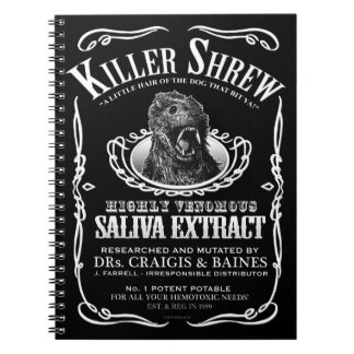 Killer Shrew Notebook